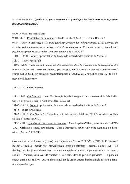 Pré-programme 2